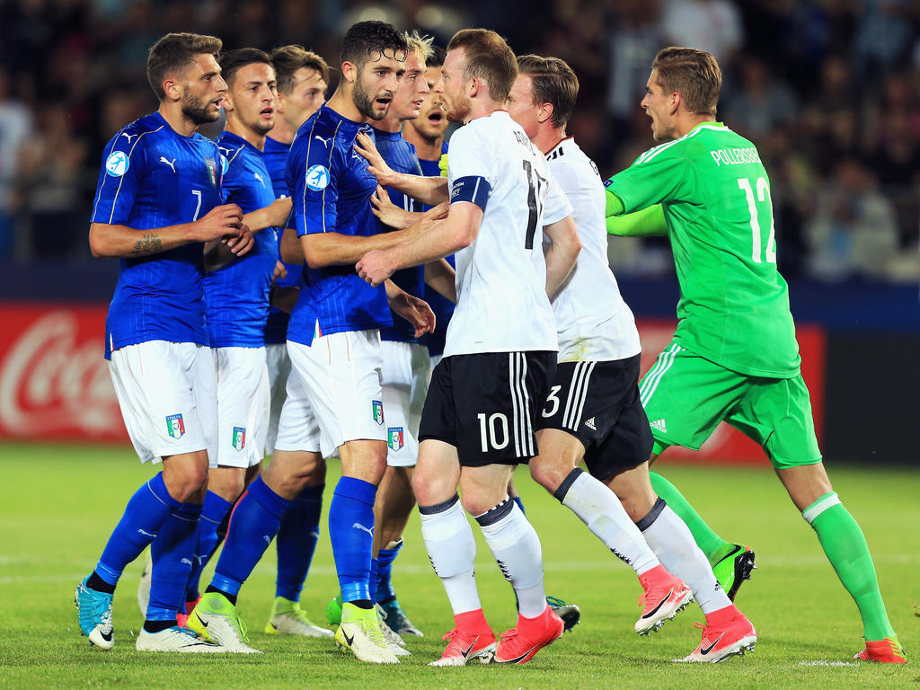 Maximilian Arnold ärgerte sich über die Italiener
