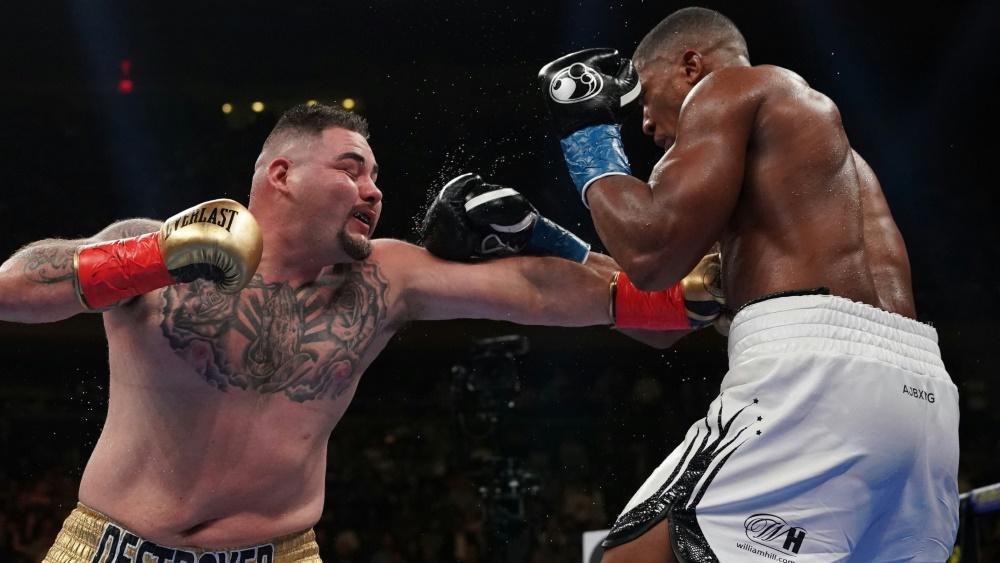 Ruiz Jr. (l.) und Joshua (r.) treffen erneut aufeinander