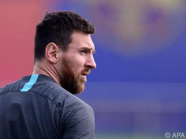 Messi könnte am Dienstag gegen Dortmund wieder auf dem Feld stehen
