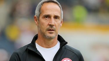Hadert mit der Niederlage: Adi Hütter von Eintracht Frankfurt