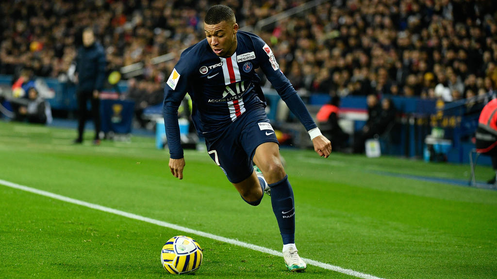 Mbappéwar 2017 nach Paris gewechselt