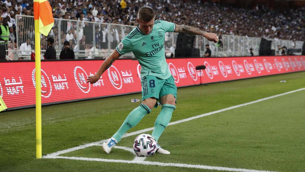 Toni Kroos erzielte gegen Valencia ein Traumtor