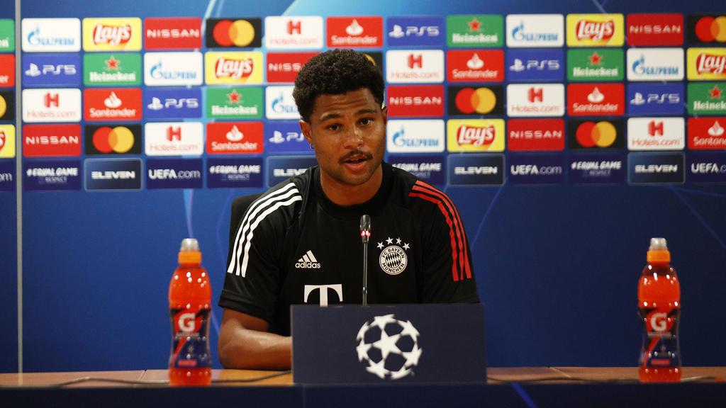 Serge Gnabry ist noch bis 2023 an den FC Bayern gebunden
