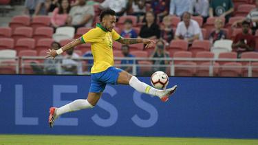 Superstar Neymar soll für Brasilien bei Olympia am Ball sein