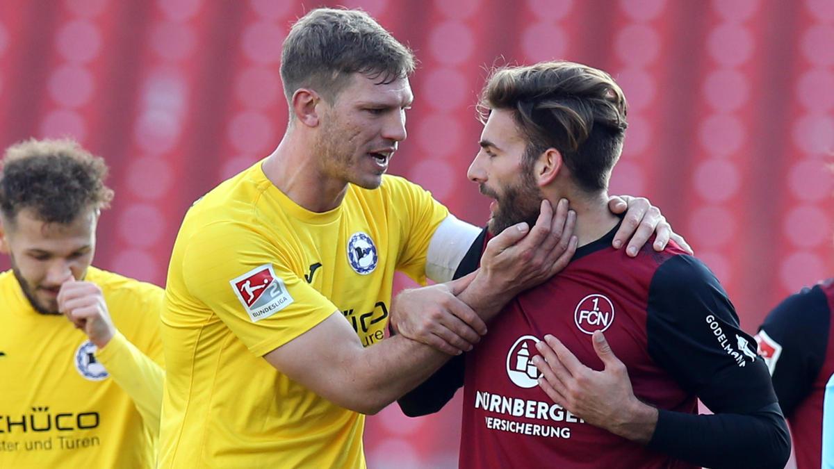Während Bielefeld um den Aufstieg kämpft, hofft der FCN auf den Klassenerhalt