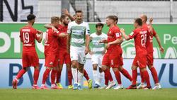 Dritter Sieg in Folge für den SV Sandhausen