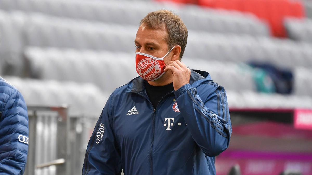 Hansi Flick vom FC Bayern zählt sich eher zu den ruhigeren Trainern