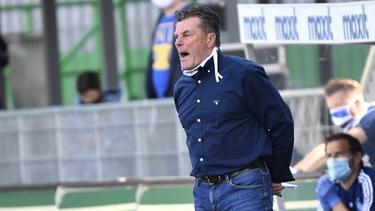 Dieter Hecking sieht den HSV auf einem guten Weg