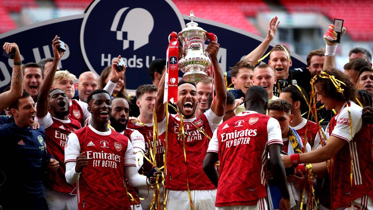 Pierre-Emerick Aubameyang ist Arsenal-Kapitän