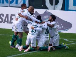 Palmeiras tuvo la victoria en sus manos.