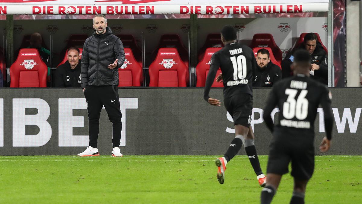 Marco Rose musste mit Gladbach nach 2:0-Führung eine Niederlage hinnehmen