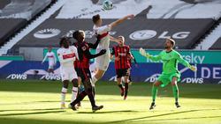 Remis zwischen dem VfB Stuttgart und Eintracht Frankfurt