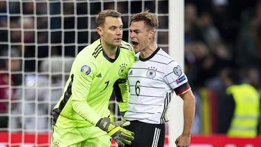 Könnten nach Tokio fahren: Manuel Neuer (l.) und Joshua Kimmich vom FC Bayern