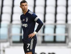 Cristiano Ronaldo musste sich bei Juventus zuletzt öfter ärgern
