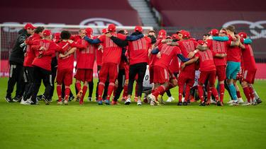 Der FC Bayern ist zum neunten Mal in Folge Meister