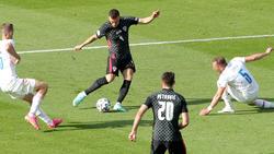 Ivan Perisic traf zum 1:1-Endstand