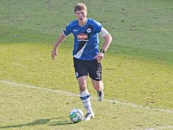 Volle Konzentration am Ball: Fabian Klos