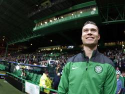 Derk Boerrigter neemt het met Celtic in de Champions League op tegen zijn oude club Ajax. (22-10-2013)