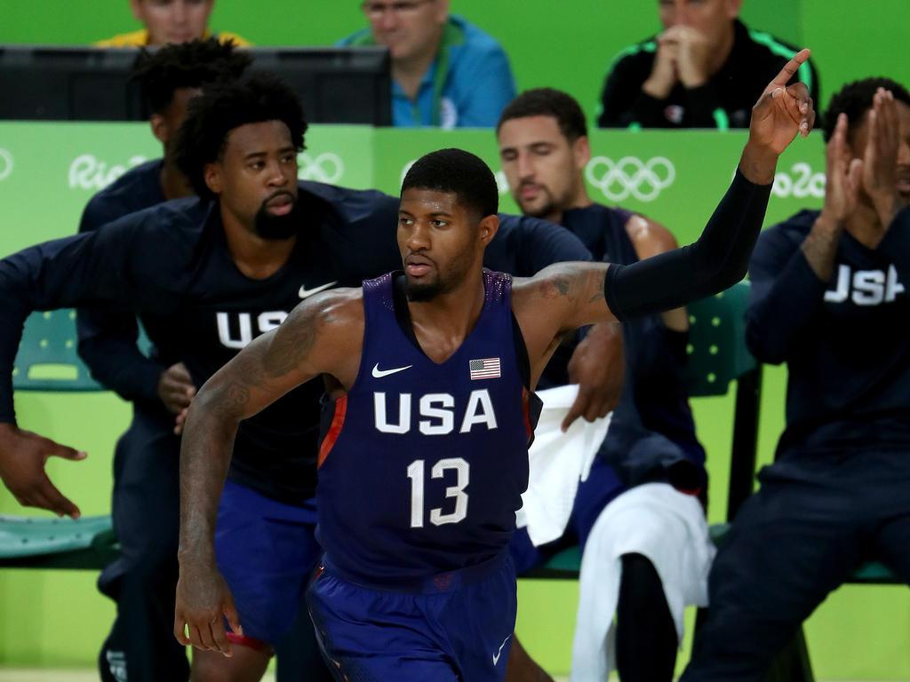 Paul George und die US-Boys haben Gold gewonnen