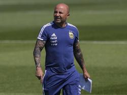Argentinien-Teamchef Jorge Sampaoli