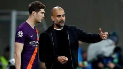 Pep Guardiola hatte mit Manchester City keine einfache Partie in Sinsheim