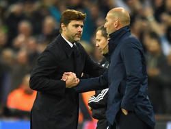 Pochettino y Zidane son dos de los técnicos que suenan para el Madrid. (Foto: Getty)