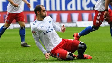Wie es mit Pierre-Michel Lasogga beim HSV weitergeht, steht noch nicht fest