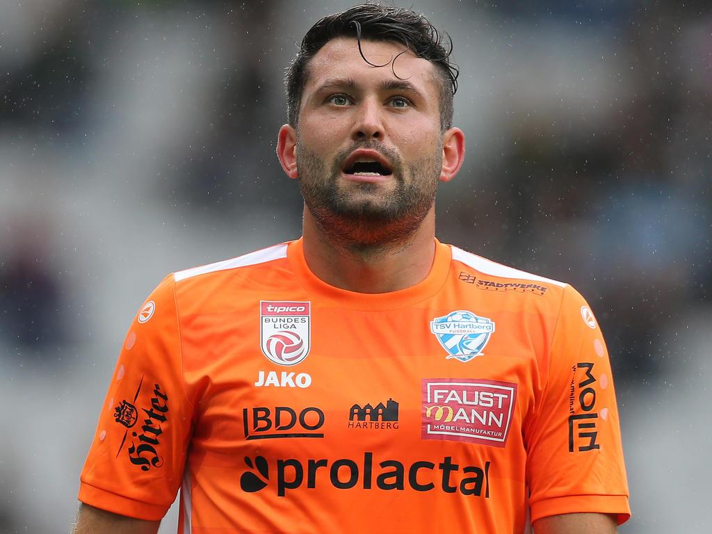 Dario Tadić ist in Hartberg heimisch geworden und kämpft mit dem TSV um den Klassenerhalt