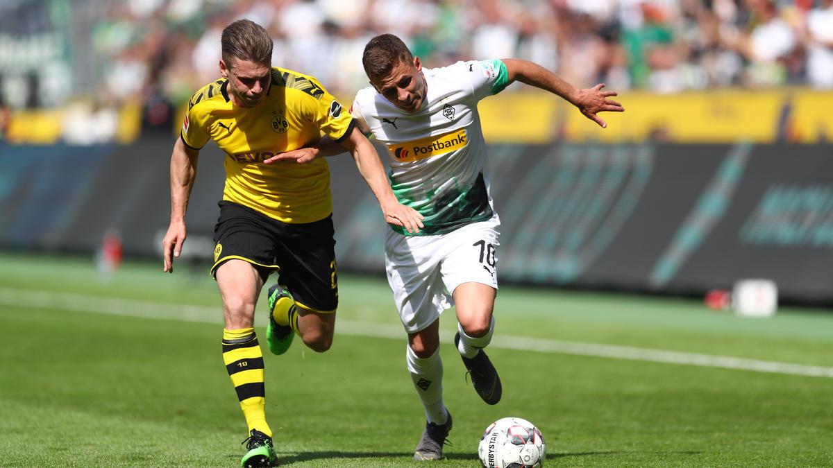 Thorgan Hazard wird wohl von Gladbach zum BVB wechseln