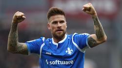 Tobias Kempe schoss den SV Darmstadt gegen Erzgebirge Aue zum Sieg