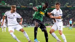 Gladbach erlebte in der Europa League einen schwarzen Abend