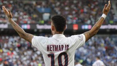 Neymar wurde von den PSG-Fans unfreundlich empfangen