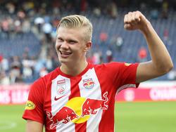Salzburgs Erling Håland ist nach wie vor im Rennen um den Golden-Boy-Award 2019