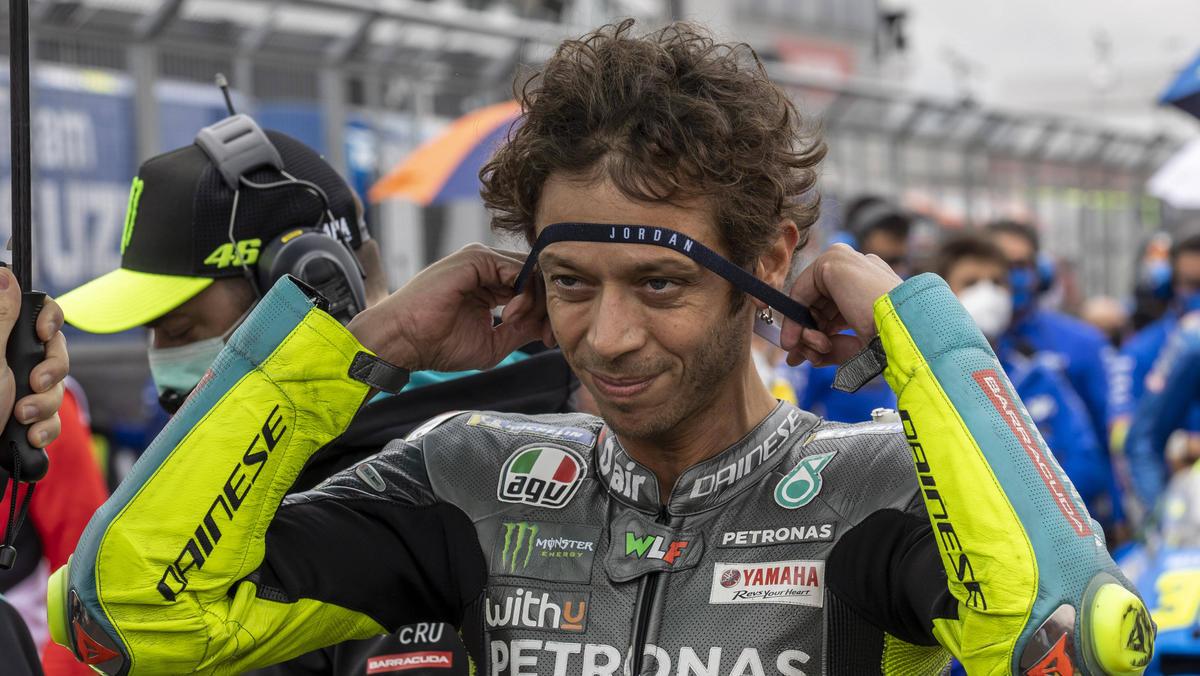 Valentino Rossi infizierte sich letztes Jahr mit dem Corona-Virus