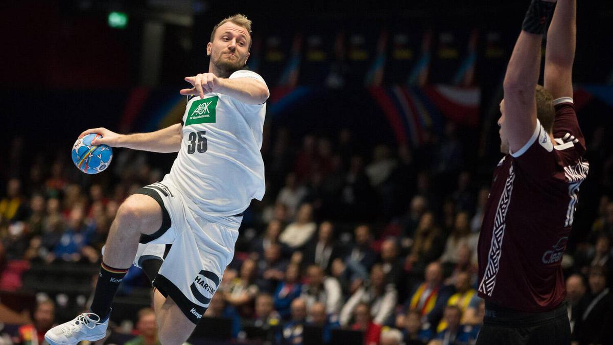 handball deutschland lettland