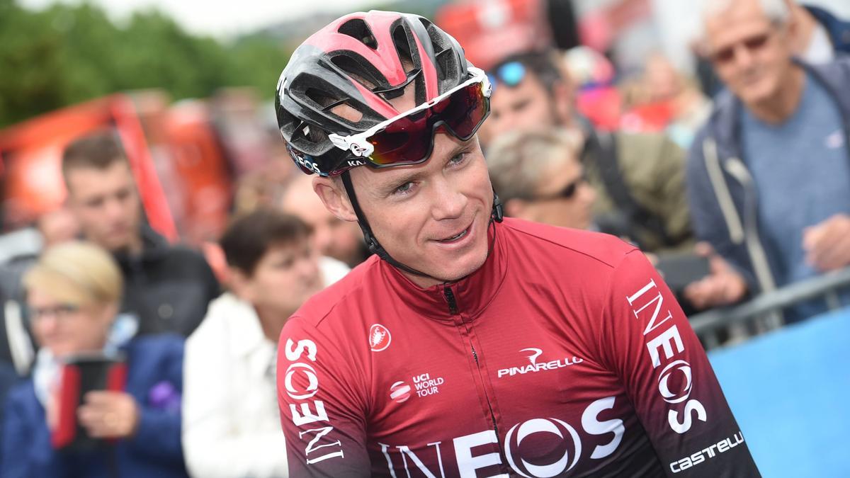 Musste über acht Monate verletzt pausieren: Radsport-Star Chris Froome