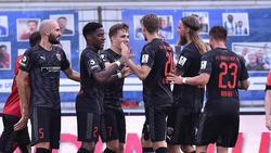 FC Ingolstadt schlägt den SV Meppen