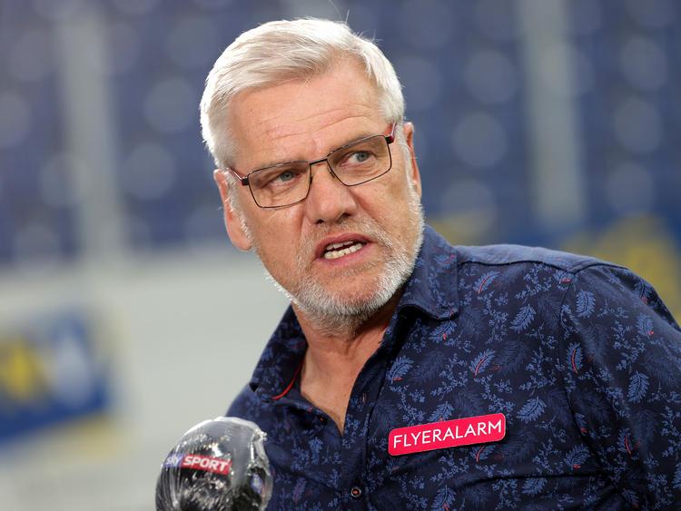 Ernst Baumeister ist schon wieder weg