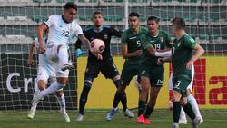 Lautaro Martínez (l.) erzielte den zwischenzeitlichen Ausgleich für Argentinien