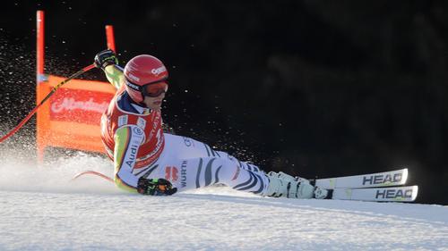 Josef Ferstl hatte sich Anfang Februar in Garmisch-Partenkirchen am Knöchel verletzt