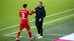 FC Bayern gegen PSG zweimal ohne Robert Lewandowski (l.)