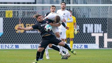 Die Kickers aus Würzburg unterlagen dem SV Sandhausen