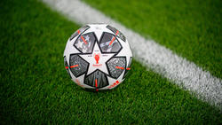 Balón oficial de la presente edición de la Liga de Campeones.