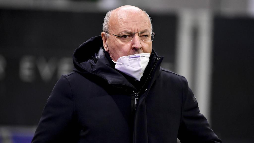 Inters Geschäftsführer Giuseppe Marotta will die Kosten senken