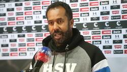 HSV-Trainer Daniel Thioune geht optimistisch ins Saisonfinale