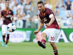 Fehlt der Roma im Angriff: Veteran Francesco Totti