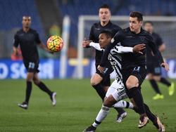 La Juventus se impuso a la Lazio gracias a la diana de Stephan Lichtsteiner. (Foto: Imago)