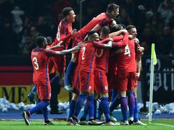 Die Three Lions feierten ein starkes Comeback gegen den DFB