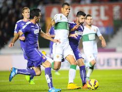 Jonathas war mit seinem Doppelpack Elches Matchwinner gegen Espanyol