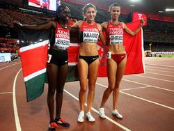 neu kaufen beste Angebote für moderne Techniken 3000m Hindernis Frauen Leichtathletik WM 2019 - Bilder
